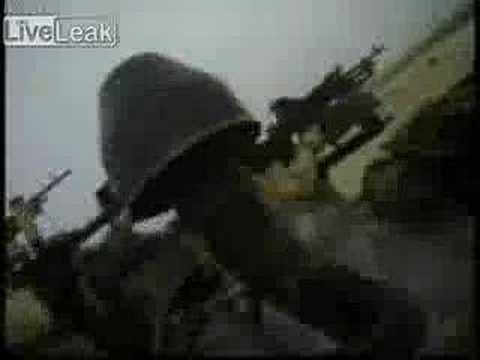 Royal Marine Gets Shot While Wearing A Helmet Camera
