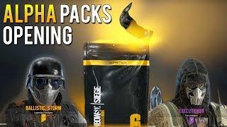27 Alpha Packs Opening | Rainbow Six Siege RNG