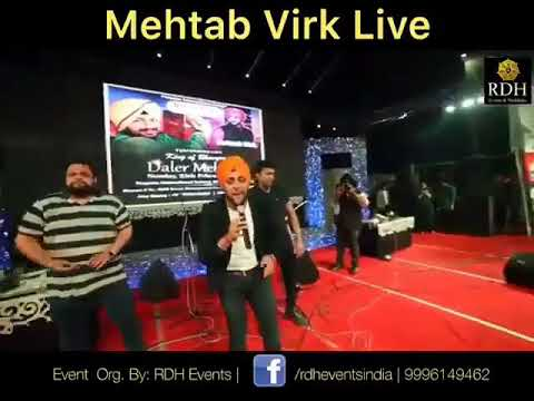 Mehtab Virk Live In Canada Best Song Proposal And All Songs