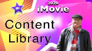 Content Libraries in iMovie - training iMovie