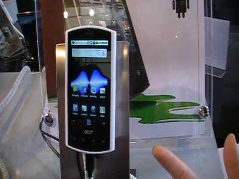 MWC 2010 - Acer Liquid E