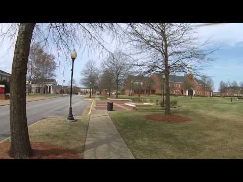 Troy University Troy, AL Shot with DJI Phantom 2 V