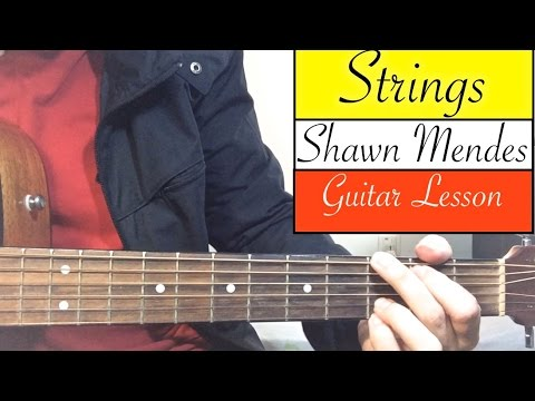 STRINGS | Shawn Mendes - Guitar Tutorial (Easy Lesson)