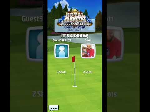 Golf Clash Royal Open Tournament Hole 1* Revision Rookie Division