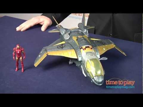 Marvel The Avengers Avengers' Quinjet from Hasbro - YouTube  Marvel The Aven...