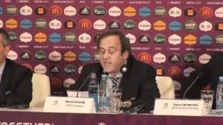 Platini, Euro 2020:| 'In tredici città europee'