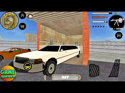 Stickman Rope Hero Parking White Limo#39 by Naxeex Android GamePlay FHD