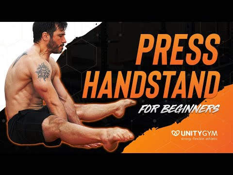 Press To Handstand - How To Do A Straddle Press Handstand For Beginners