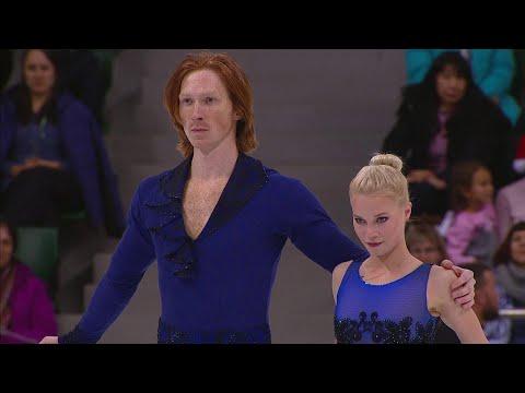 Евгения Тарасова и Владимир Морозов лидируют в соревнованиях спортивных пар! Короткая программа. Пар
