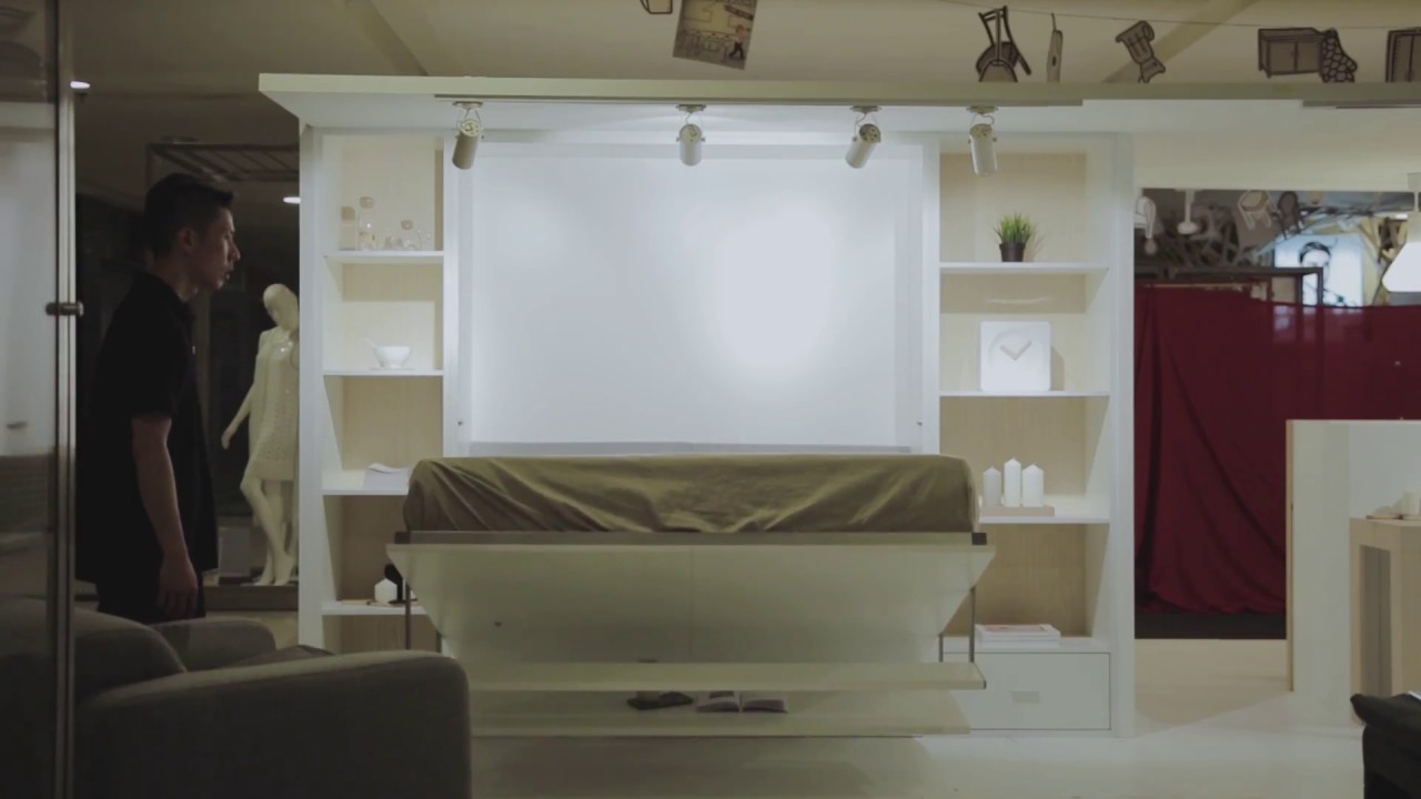 Cameralogue.my Studio With Malaysia Furniture Murano Shelf Wall Bed