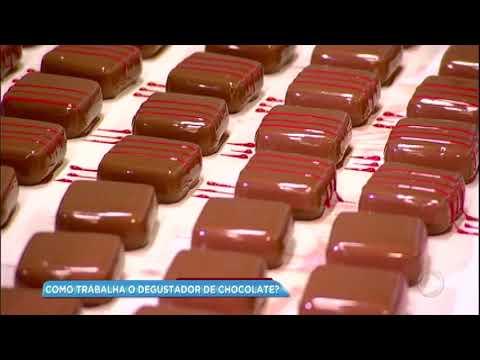 Balanço Geral mostra como trabalha um degustador de chocolate