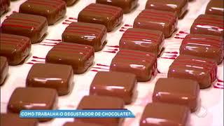 Baixar Balanço Geral mostra como trabalha um degustador de chocolate