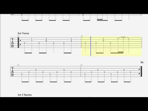 Guitar Tab Goodbye Blue Sky Drop D Tuning Youtube