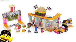 LEGO Friends Drifting Diner review! 🍔 41349