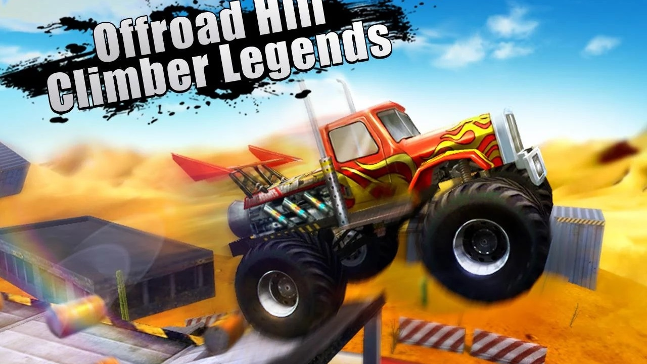 Offroad Hill Climber Legends MAP X Truck Simulation Race - Map videos for kids