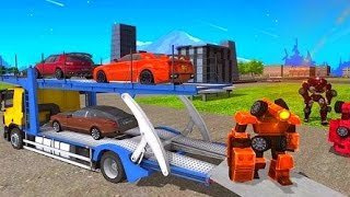 Car Robot Transporter Truck - Best Android Gameplay HD