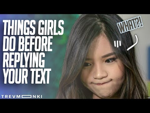 8 Things Singaporean Girls Do Before Replying Your Text (Ft. Titan Tyra)