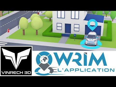 Application WRIM - vidéo par VINRECH 3D