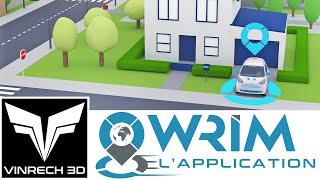 Application WRIM saisie et note de frais 4K - VINRECH PRODUCTION