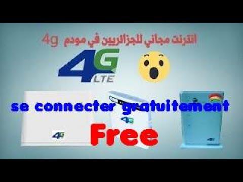 4G Lte connecter gratuitement free 100%