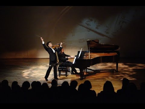 Paul Huang (violin) and Tao Lin (piano) performing Grieg Sonata in C minor, No3 Op 45
