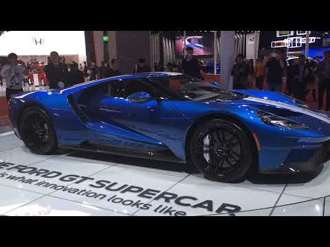 Ford Gt Supercar Is Fords Fastest Car