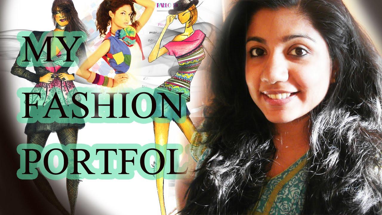 My Fashion Portfolio How To Create A Portfolio Youtube