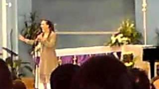Joumana Mdawar at the Rosary Church, Doha, Qatar (22-03-2010) part 1.MP4