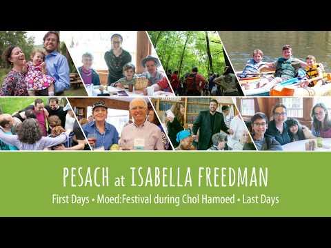 Pesach at Isabella Freedman - Hazon