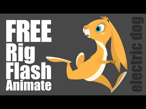 Free Adobe Animate CC & Flash Character Rig (puppet)