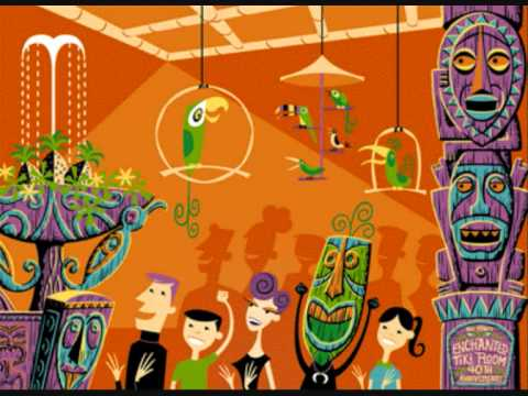Walt Disney Tiki Tiki Room Song Youtube