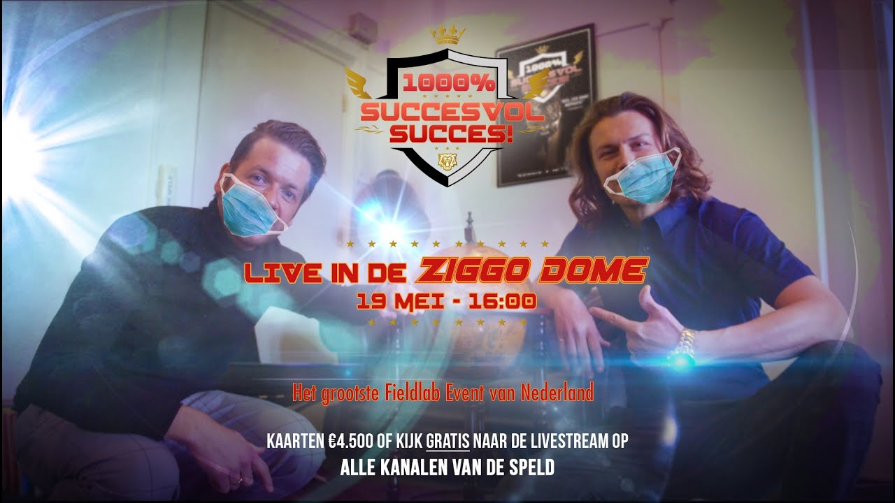 Download 1000% Succesvol Succes LIVE in Ziggo Dome