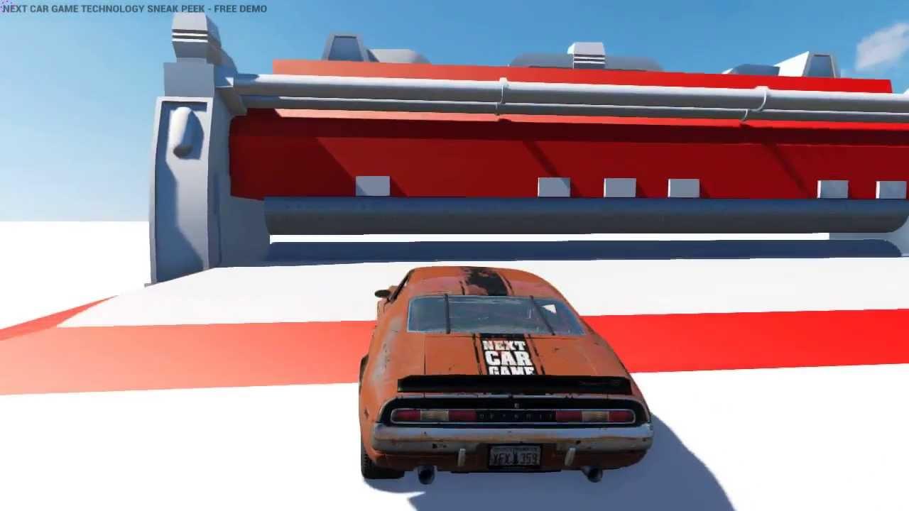 Next Car Game Tech Demo Max Settings Free Download