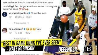 'Best In Game Dunk I've EVER SEEN' High School Player's INSANE Dunk Has NBA Players WILDIN'