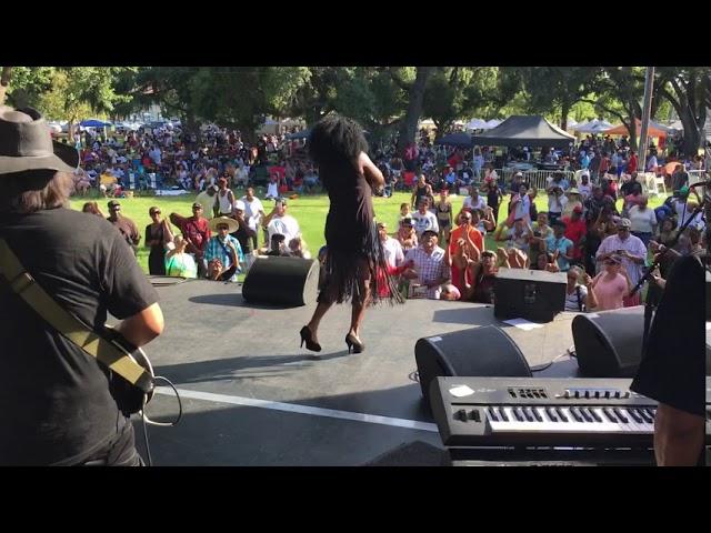 Karen White Super Woman Live Concert In The Park North Highlands Sacramento Ca.