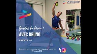 Gardez la forme avec Bruno ! Tabata #7 - La Base 2K24