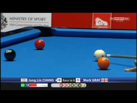 Chang Jung Lin v Mark Gray   World Pool Masters 2017 Last 16