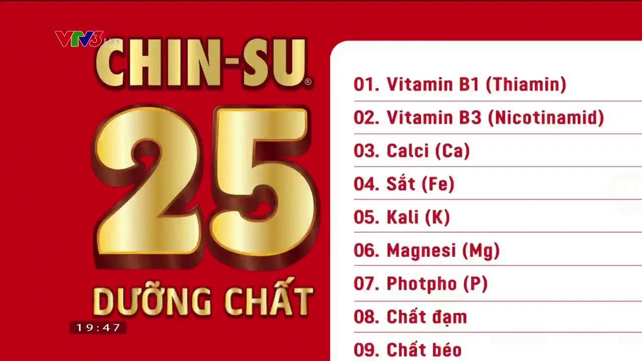 Quảng cáo Hạt nêm Chinsu – Hạt nêm cao cấp 25 dưỡng chất (30s)