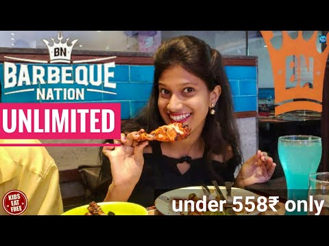 Barbeque Nation Unlimited Buffet In Just 558 In Mumbai | Unlimited Food