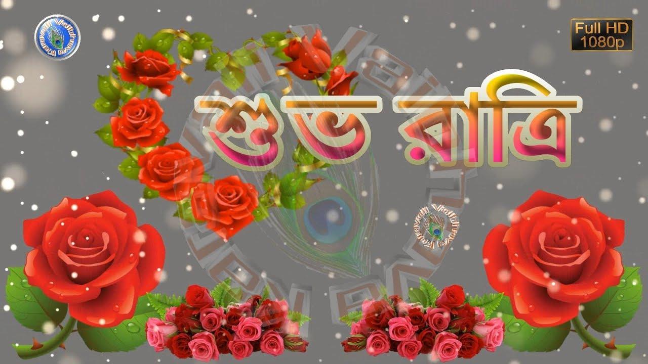 Good Night Wishes Good Night Sayings Bengali Whatsapp Status Video