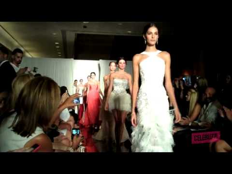 Behind the Scenes with Kendall Jenner at Sherri Hill Runway Show
