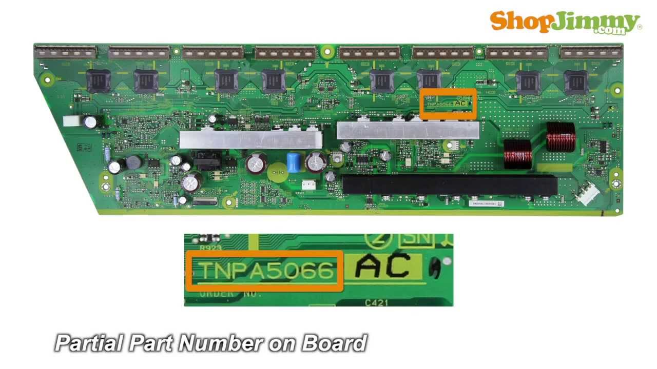 diy panasonic sanyo plasma tv repair tips tnpa5066ac sn boards replacement tv parts tutorial [ 1280 x 720 Pixel ]