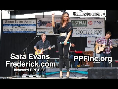 PPF FFF Family Fundraiser FUNomenon - 2012 - Sara Evans and Hunter Hayes