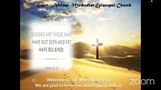 The Scars of Doubt-Rev. Kenesha Blake-Newell, Worship Service  Sunday April 11 2021