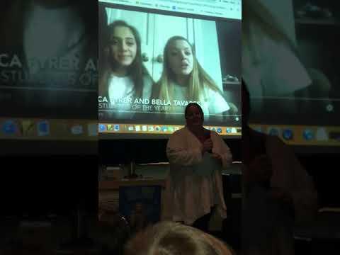 Dawn Haynes, Chariho Regional Middle School - Teacher and Survivor