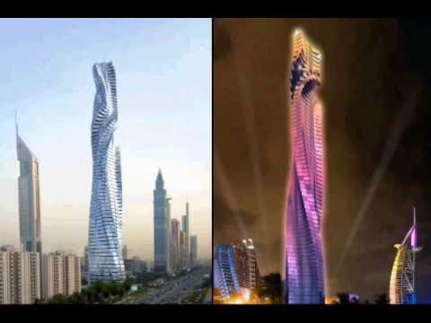 Dubai Moving Skyscrapers is Comming Zoon.80 Floor Tower (Dynamic Tower)