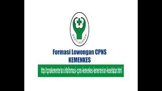 PENGUMUMAN CPNS KEMENKES (Kementerian Kesehatan)