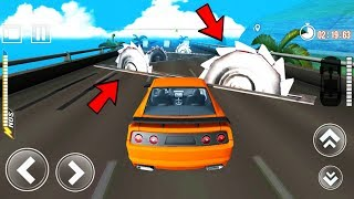 Car Crushing Speed Car Bumps Challenge Android Gameplay