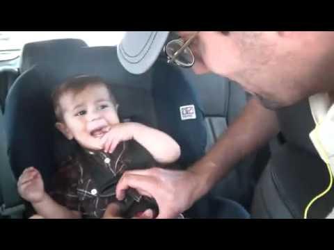 Bob Marley kid in car (the power of reggae)