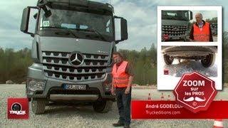L'Arocs montre les dents ! Prise en main du Mercedes Arocs à Düsseldorf